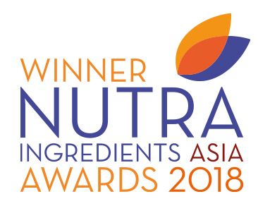Winner Nutra Ingredients Asia Awards 2018