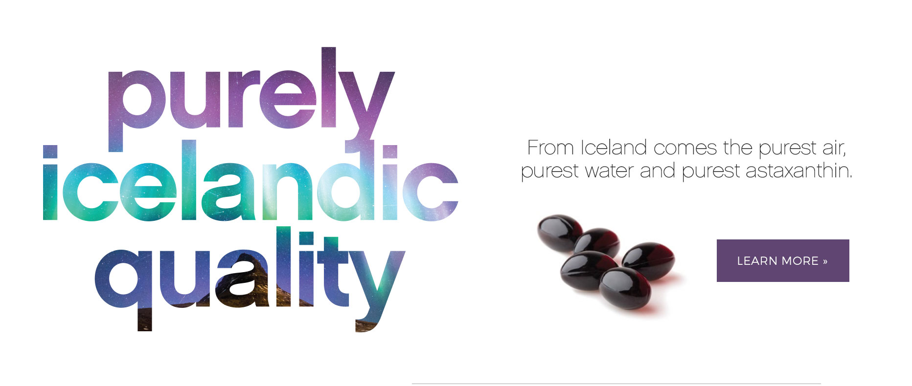 Purely Icelandic Quality - Learn More